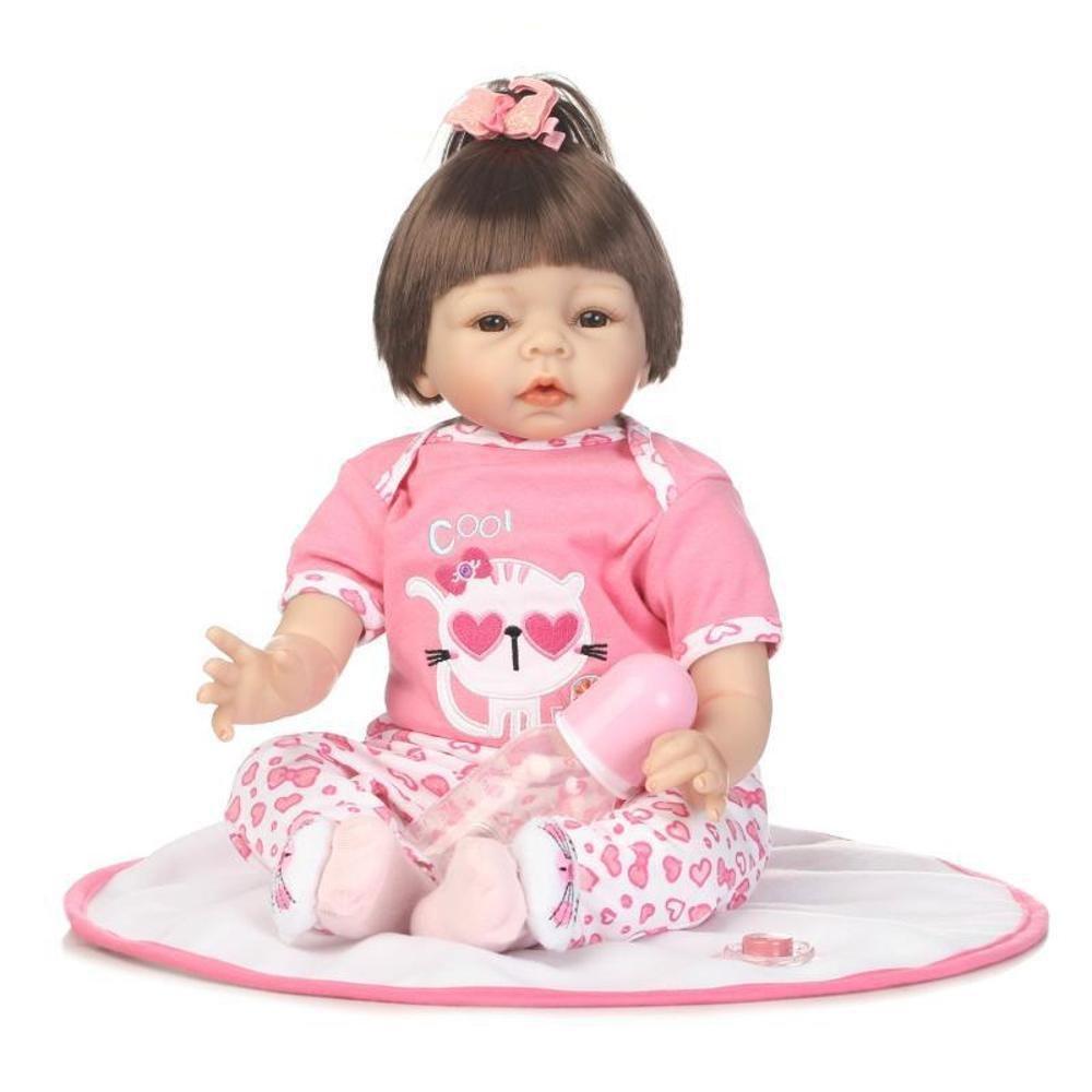 Haixin Arte muñeca realista recién nacido muñeca silicona vinilo Reborn hecho a mano