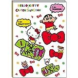 デルフィーノ サンリオ 19年9月始まり マンスリー手帳 B6サイズ キティ×しんちゃん SA-36444