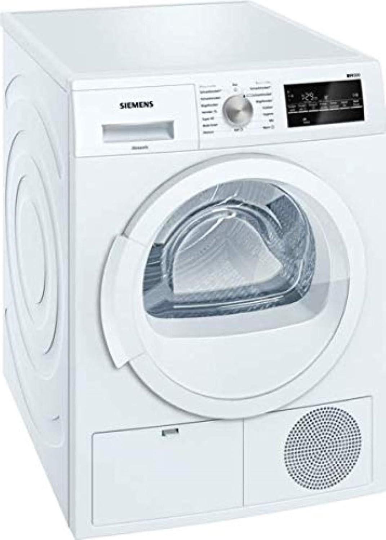 Siemens wt46g400/IQ500/kondensationstrockner//B//kWh//8/kg//Grand /écran avec la fin pr/és/élection du temps Blanc