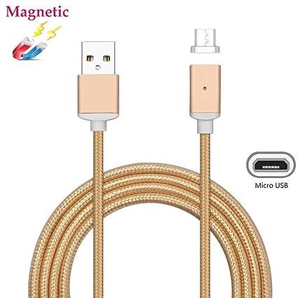 Amazon.com: Cable Micro USB, Magnético superior ZRL Nylon ...