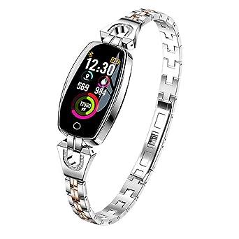 Smart Watch Women 2019 Monitor de frecuencia cardíaca a Prueba de ...