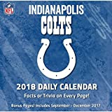 2018 NFL Indianapolis Colts Desk Calendar