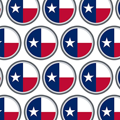 Premium Texas State Flag Gift Wrapping Paper