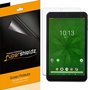 (3 Pack) Supershieldz for Onn 8 inch Tablet Screen Protector, Anti Glare and Anti Fingerprint (Matte) Shield