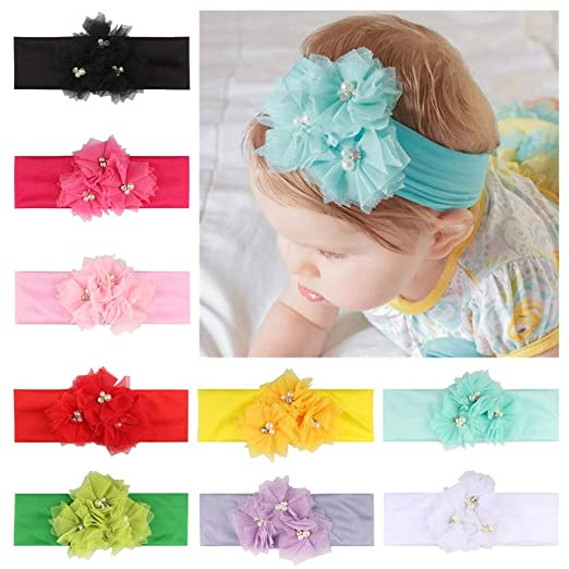 Outtop(TM) Baby Headbands Toddler Newborn Kids Knot Headband Hairbands  Turban Head Wraps Photography c09cee11360