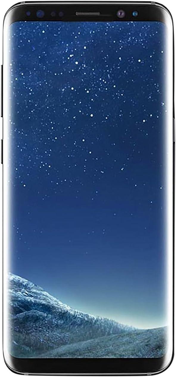 "Samsung Galaxy S8 64GB Phone- 5.8"" display - AT&T Unlocked (Midnight Black)"