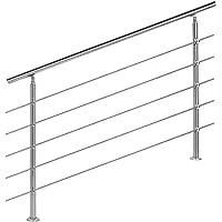 Barandilla acero inox 5 varillas 140cm Pasamanos escalera