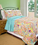 Pegasus Home Fashions Home ID Collection Lauren Quilt Plus Sham Set, Full/Queen
