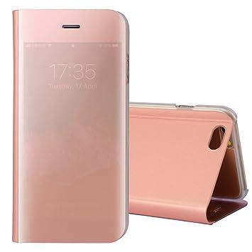 045ec2465c iphone6splus/iphone6plus ケース手帳 鏡 スタンド付き 二つ折り ノート型 ミラー ススマホケース アイフォン6s