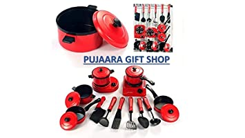 Buy Pujaara Pretend Play Kitchen Cooking Playset For Kids Kitchen
