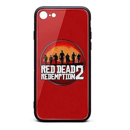 Amazon.com: Carcasa para iPhone 6/6s, diseño de Red-Dead ...