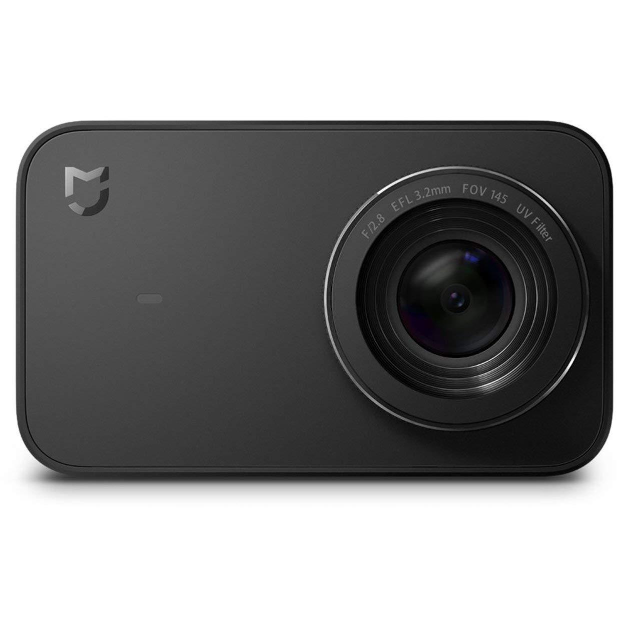 Dailyinshop Xiaomi Mijia Action Kamera 4 Karat 1080 P Wifi Drahtlose Blautooth 4.1 2,4-Zoll Touchscreen Globale Version 145 ° Weitwinkel (Farbe  Schwarz)