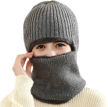 VORCOOL Gorro de Invierno Unisex Kint Gorros para Clima frío con ...