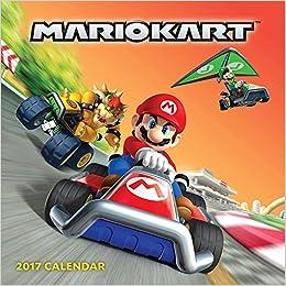 Mario Kart 2017 Wall Calendar: