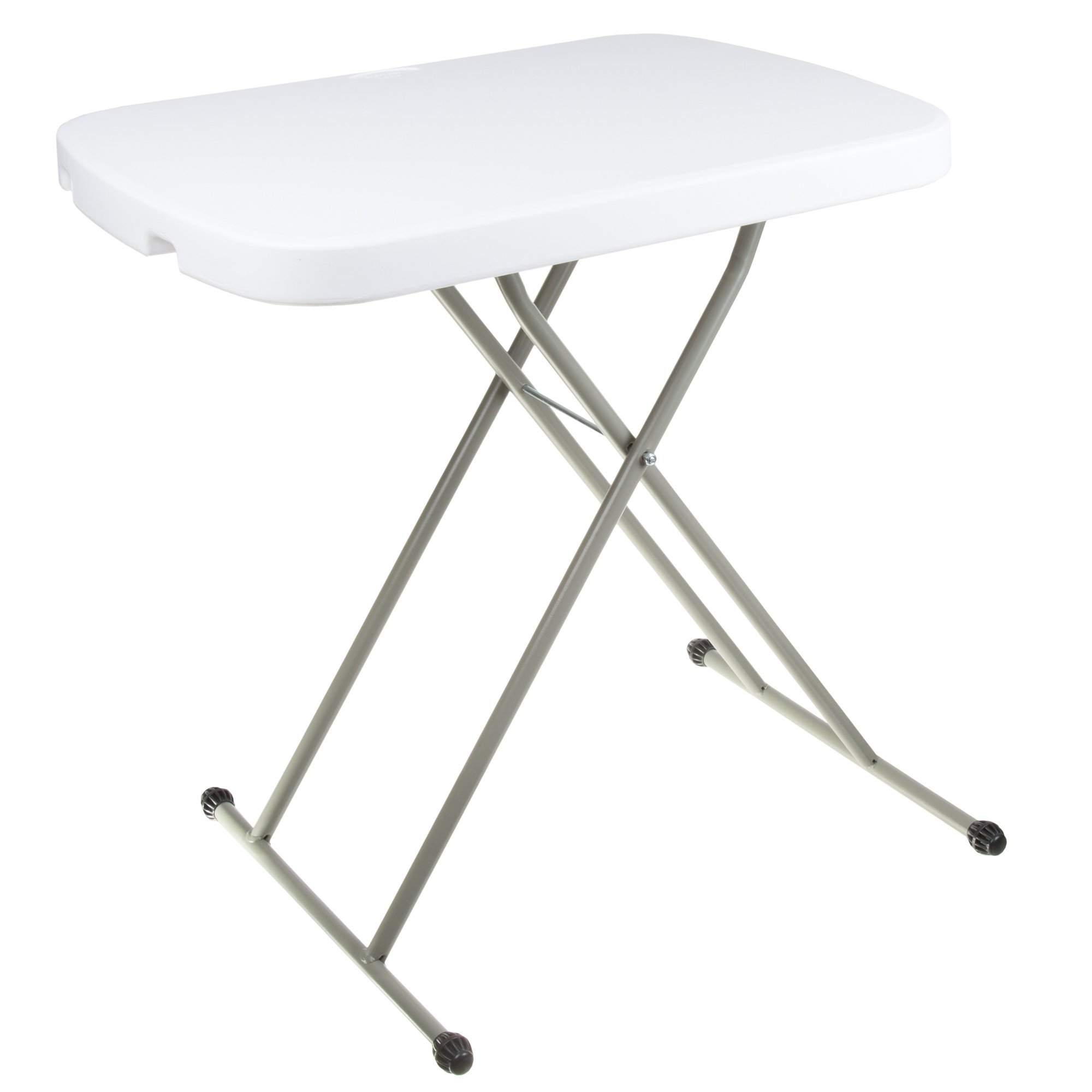 Folding Table, Foldable Table and TV Tray by Everyday Home, 26 x 18 x 27 (Great for Laptops)