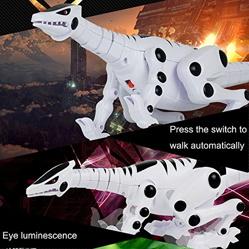 teractive Smart Toy Dinosaur Robot Remote Toys Gift + Sound Light (A5) (A5 Spring)