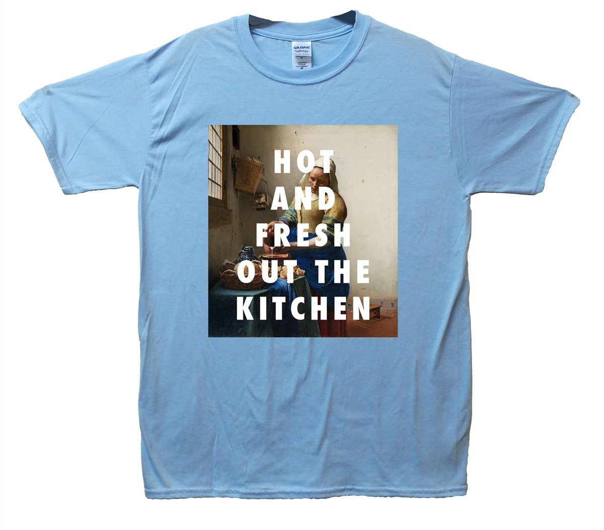 Hot And Fresh Out The Kitchen T-Shirt: Amazon.co.uk: Clothing
