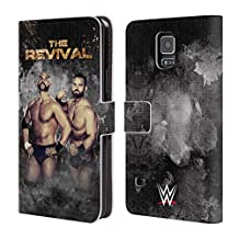 Official WWE LED Image The Revival Leather Book Wallet Case Cover For Samsung Galaxy Note 4