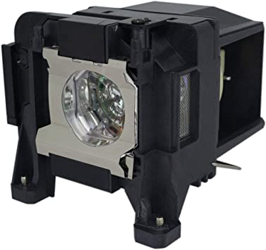 Original Philips Bulb Inside Lutema Platinum for Epson PowerLite 98 Projector Lamp with Housing