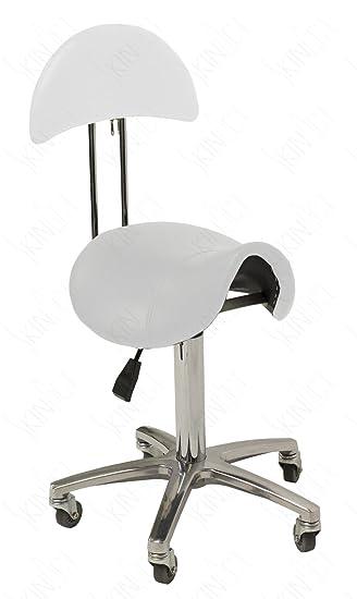 Hydraulic Saddle Stool with Back Salon Stool Spa Equipment  sc 1 st  Amazon.com & Amazon.com: Hydraulic Saddle Stool with Back Salon Stool Spa ... islam-shia.org