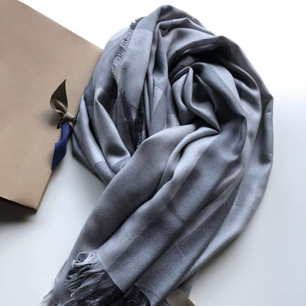 Weiwei Women's Silk Shawl Silk Scarf Light and Breathable Birthday Gift 135CM175CM