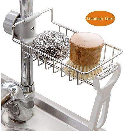 Amazon.com: TuuTyss – Soporte para fregadero de acero ...