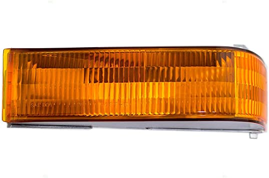 Driver and Passenger Park Signal Front Marker Lights Lamps Replacement for Ford Pickup Truck SUV F5TZ13201AB F5TZ13200AB