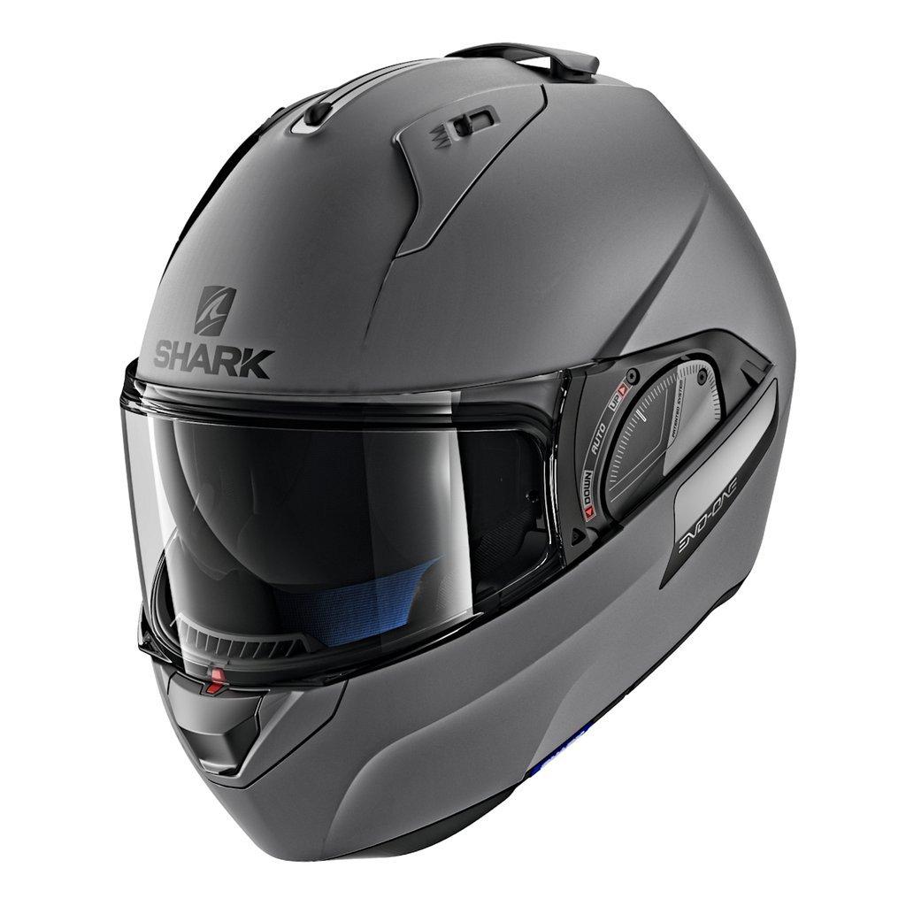 Shark Unisex-Adult Flip-Up Helmet Black//White//Red, KS - 63-64 cm - 24.8-25.2