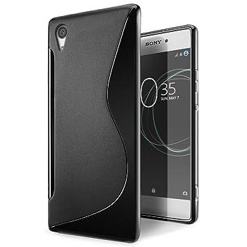 Funda Sony Xperia XA1, SLEO Slim Fit TPU Carcasa de Parachoques Case Traslúcido Suave con Absorción de Impactos y Resistente a los Arañazos para Sony ...