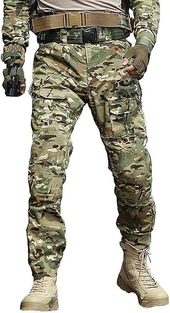 unisex TRGPSG Men's Waterproof mart Hiking Military Scratch-Resistant Pants