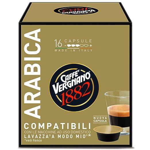 17 opinioni per 16 Capsule Caffè Vergnano 1882 Arabica Compatibili Lavazza a Modo Mio