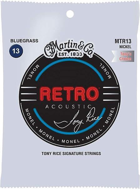 C. F. Martin mm de 13 Retro Cuerdas para guitarra acústica: Amazon ...