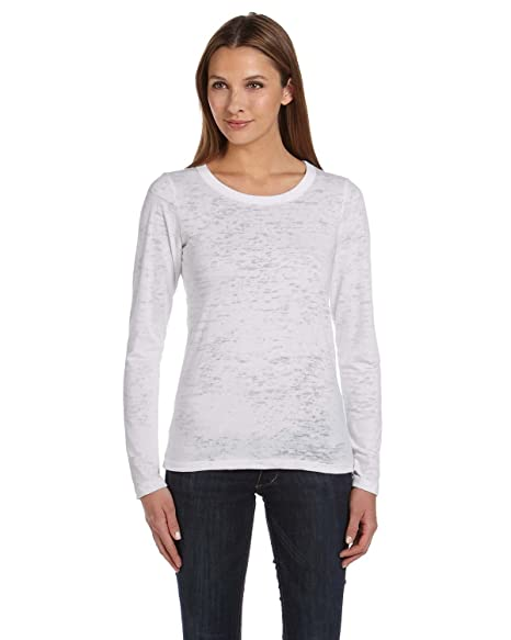 357ee3d57c7 Ladies' 3.1 oz. Gretchen Burnout Long-Sleeve T-Shirt