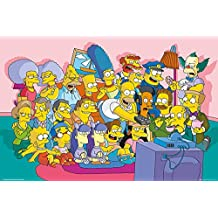 "The Simpsons Poster Sofa Cast (36""x24"")"