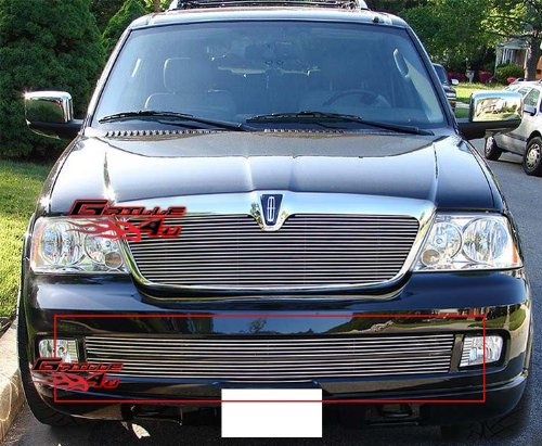 APS Fits 05-06 Lincoln Navigator Lower Bumper Billet Grille Insert #L85018A
