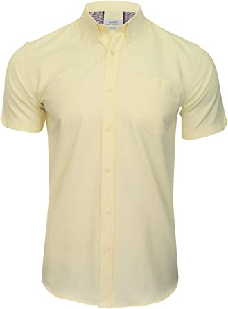 Xact Camisa Oxford con botones para hombre, manga corta: Amazon.es: Ropa y accesorios