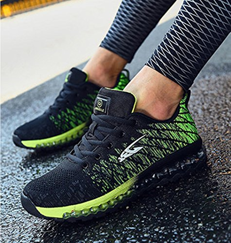 y caño negro Unisex de botas LFEU bajo verde adulto g0qwT6Wznx