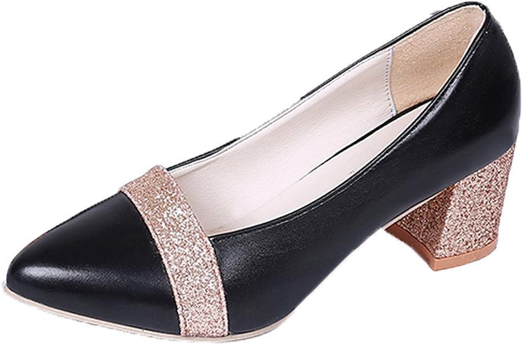 Darringls_Zapatos para Mujer,Sandalias Zapatos de tacón Alto Puntiagudos Zapatos Casuales Zapatos de Boda Mujeres