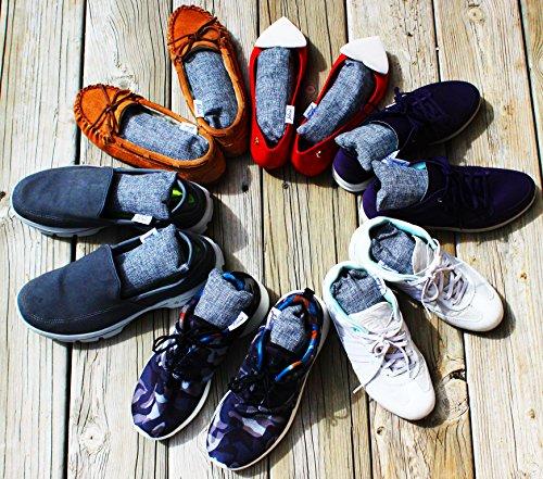 Schnäppchen für Mode Farbbrillanz 2018 Schuhe Jalousie 12 Packs 100g Each Mini Bamboo Charcoal Bags Natural Air Purifier,  Shoe Deodorizer and Odor Eliminator (Pack of 12 Bags)