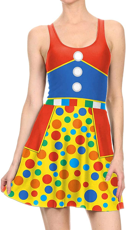 Dawwoti Vestido de la Muchacha para Halloween Acogedor Vestido ...