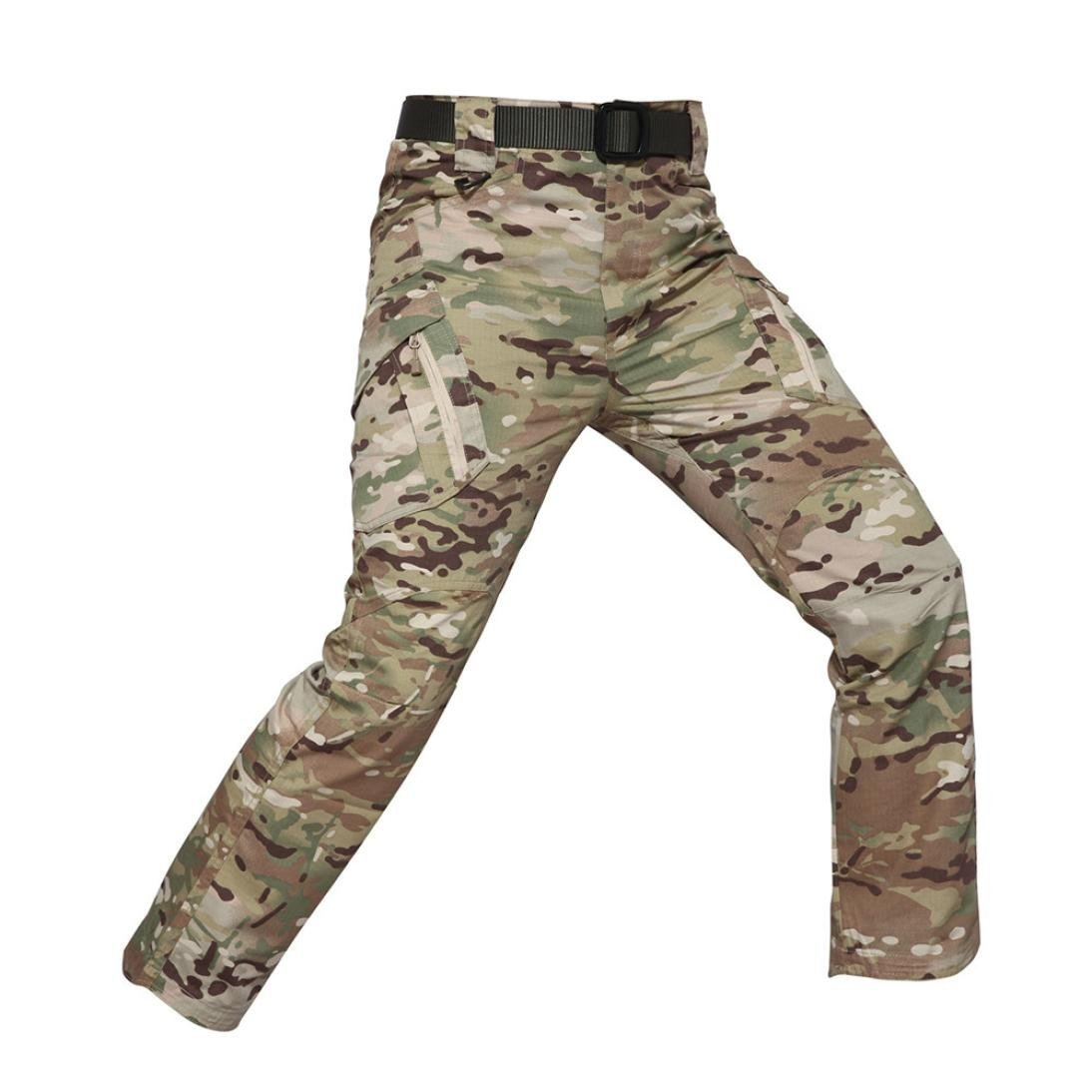 PASATO New!Men's Casual Tactical Military Army Combat Outdoors Work Trousers Cargo Pants(Multicolor , XXXL)