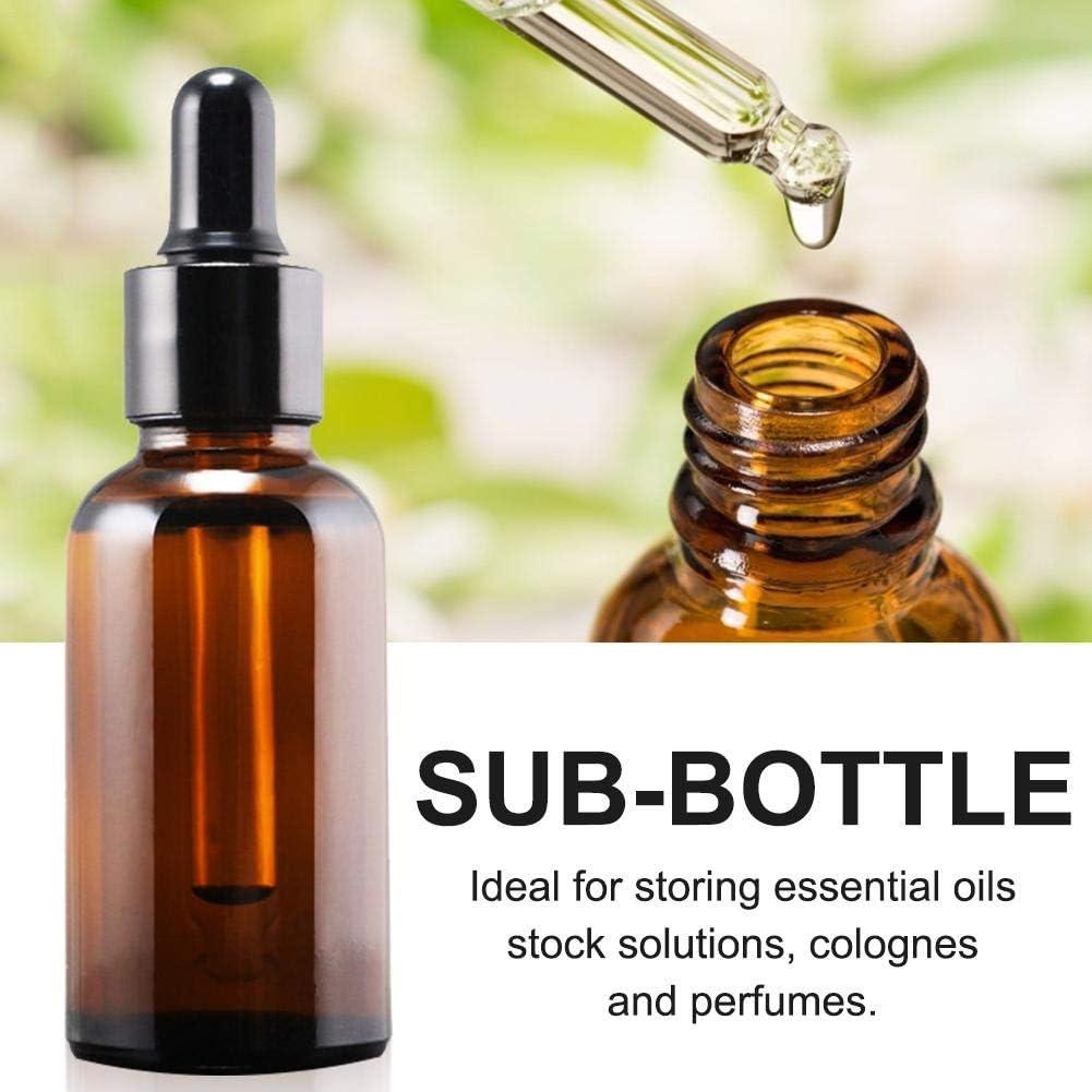 Huile essentielle Pour huile essentielle bouteille de voyage Pour bouteilles vides Diffuseur dhuiles essentielles Lot de 60 flacons de verre de marmite r/éutilisables Flacon de parfum