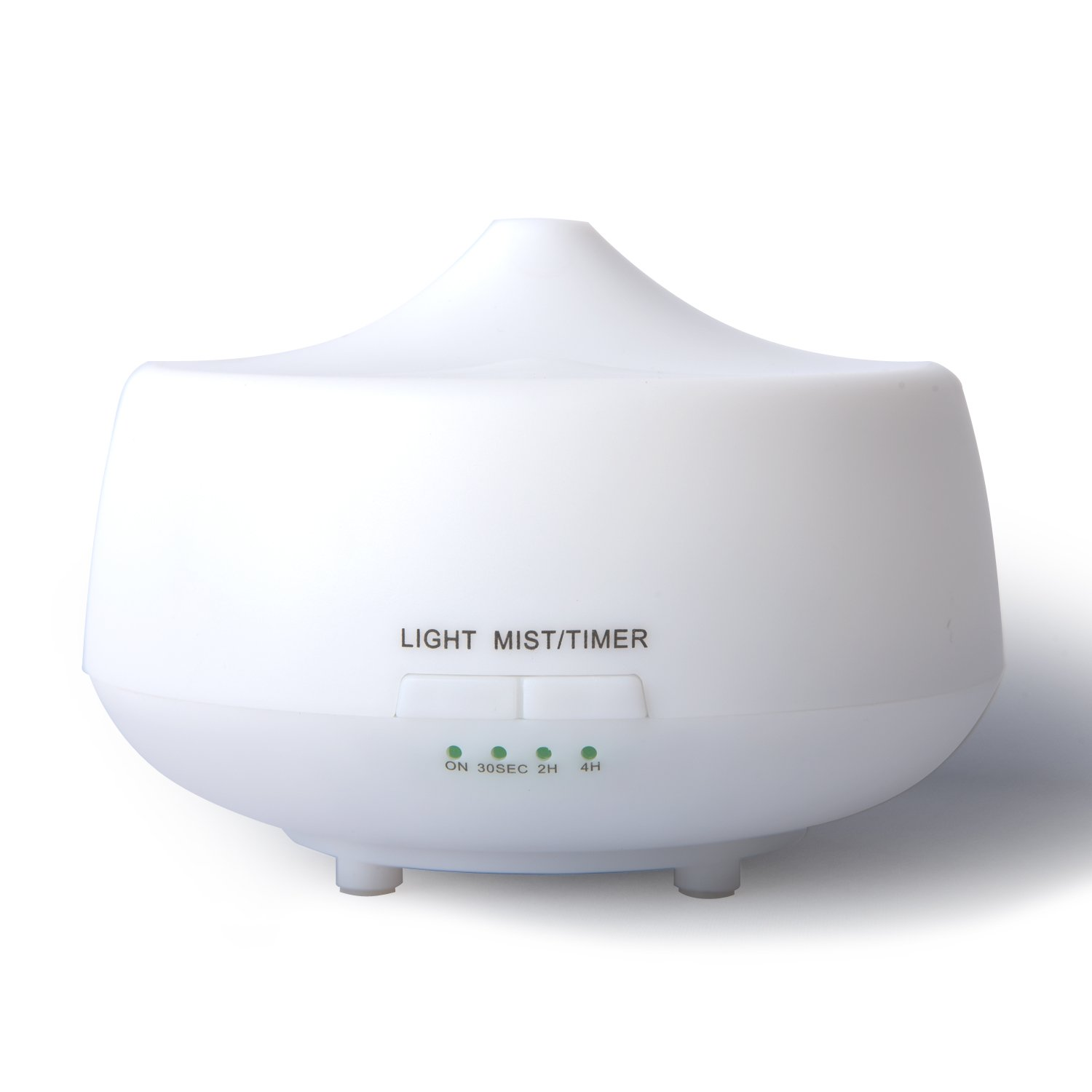 LUJII 250ml Ultrasonic Humidifier Aroma Diffuser, Essential Oil Diffuser, Aromatherapy Purifier, Air Purifier, 7 Color LED lights and Timer Settings, For Home, Yoga, Office, Spa, Bedroom, Baby Room by LUJII (Image #1)