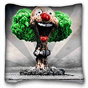 Soft Pillow Case Cover Nature Custom Zippered Pillow Case 16x16 inches(one sides) from Surprise you suitable for Twin-bed