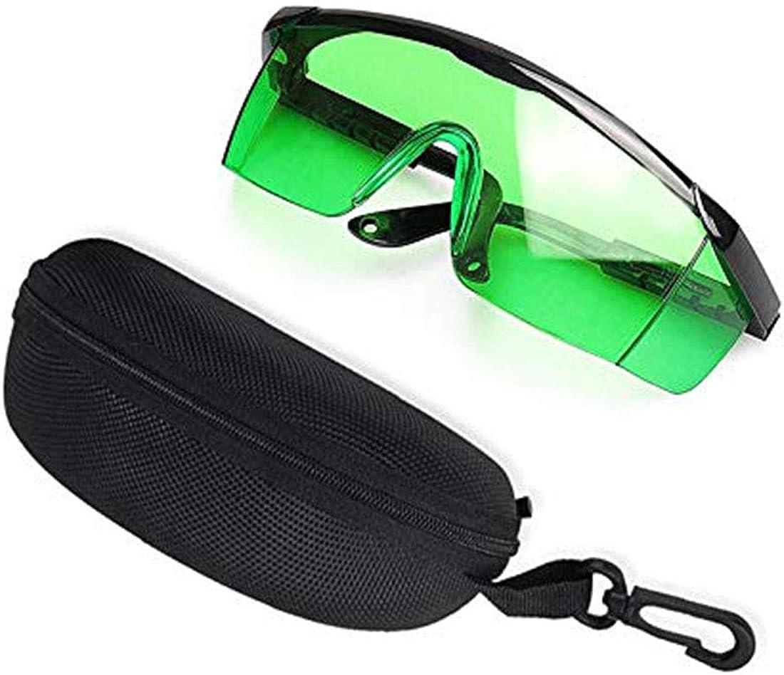 Zeagro 1 x Gafas láser Protección Gafas Azul Violeta Luz Gafas de Filtro Láser Grabado Gafas