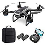 DEERC D50 Drone with Camera for Adults 2K Ultra HD FPV Live Video 120 Degree Wide Angle,Gesture Selfie,Gravity Control,Waypoi