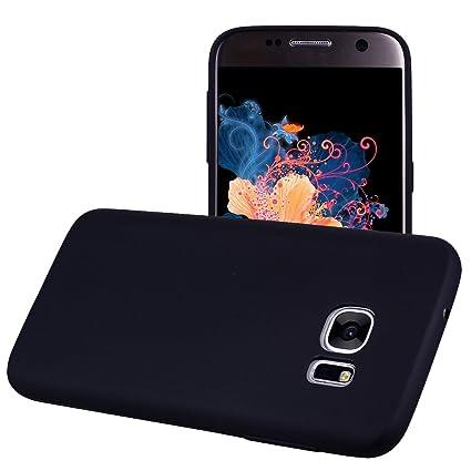 Funda Samsung Galaxy S6 EDGE, Yunbaozi Protective Case Carcasa Caucho Funda Protectora de Silicona Gelatina Caramelo Ultra Suave Flexible Delgado ...