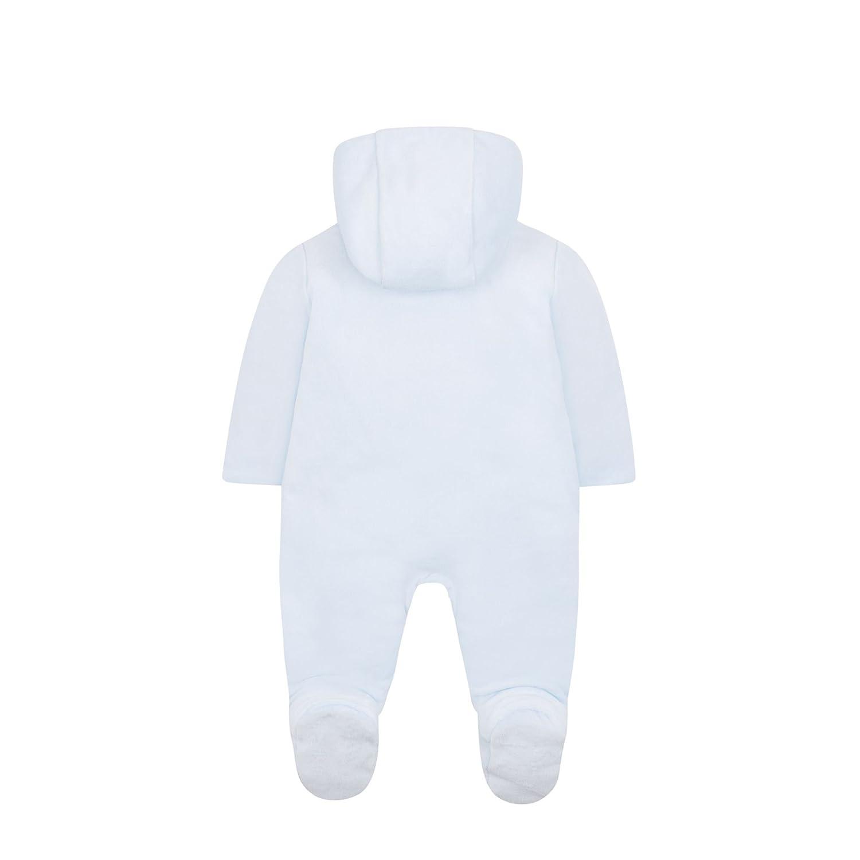 c2a7efadb Mothercare Baby Boys' Velour Graphic Pramsuit Bodysuit: Amazon.co.uk:  Clothing