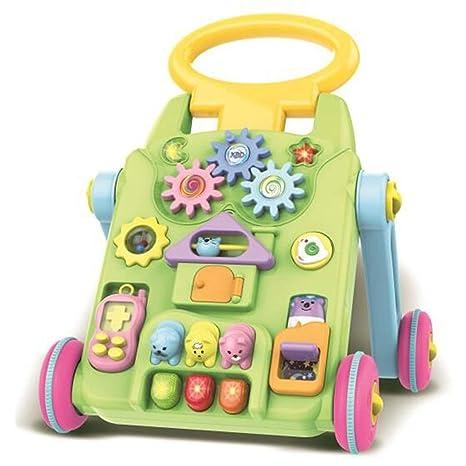 WFHhsxfh Walker Multifuncional for bebés, empujador Manual ...