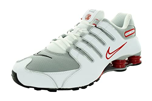 the latest 073c8 f0708 Nike Shox NZ, Scarpe Sportive, Uomo, Multicolore (White Metallic Silver-